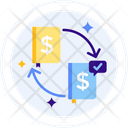 Distributed Ledger Currency Exchange Verified Currency Icon