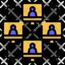 Distributedledgertechnology Network Distribute Icon