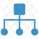 Distributed work Icon