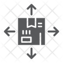 Distribution Logistic Package Icon