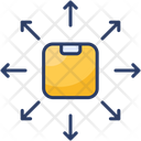 Delivery Distribution Logistics Icon