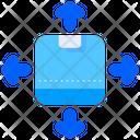 Distribution Direction Arrow Icon