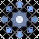 Distribution Export Output Icon