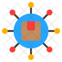 Distribution Delivery Shipping Icon