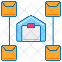 Distribution Center Icon