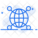 Worldwide Channels Distribution Channels Distribution Management Icon