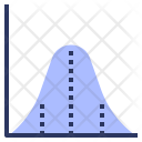 Normal Distribution Curve Icon