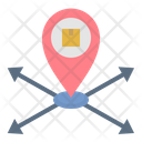 Distribution Location Icon