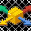 Distribution Network Icon