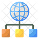Distribution Network Icon