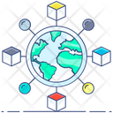 Distribution Network Distribution Channel Strategic Network Icon