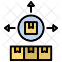 Distribution Parcel Icon