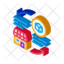 Shop Circle Arrow Icon