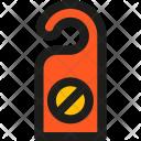 Disturb Sign Icon