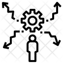 Disturbance Disturb Scatter Icon