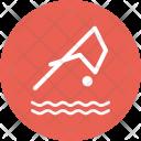 Dive Water Swim Icon