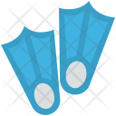 Dive Fins Swimming Icon