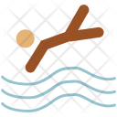 Diver Diving Sports Icon