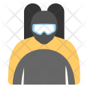 Diver Underwater Diving Icon