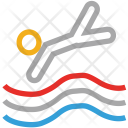 Diver Swimmer Diving Icon