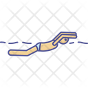 Diver Diving Swimmer Icon