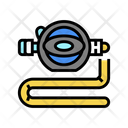 Diver Breath Tool Icon
