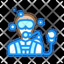Diver Worker Color Icon