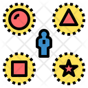 Diversity Difference Variety Icon