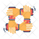 Diversity Equality Eaual Hands Icon