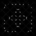 Divide Subdivide Calculate Icon