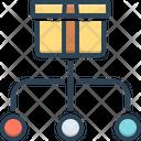 Divide Partition Passout Icon