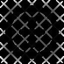 Divide Calculation Maths Icon