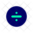 Divide Math Fraction Icon