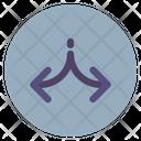 Divide Arrow Icon