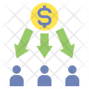Dividen Payment Icon