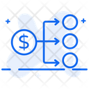 Dividend Profit Money Distribution Icon