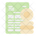 Dividend Document Icon