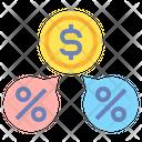 Dividends Dallor Money Icon