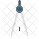 Compass Geometrical Compass Divider Icon