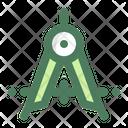 Divider Chemist Compass Icon