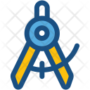 Compass Divider Geometrical Icon
