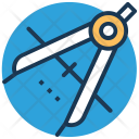 Compass Divider Tool Icon
