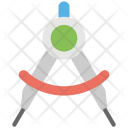Compass Geometry Divider Icon