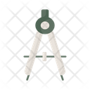 Compass Divider Divider Tool Icon