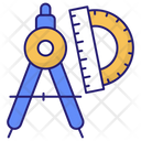 Divider Tool Divider Engineering Icon