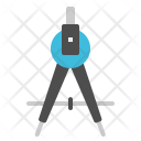 Dividers Education Drafting Icon