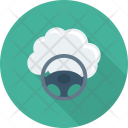 Diving Driving Cloud Icon