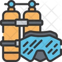 Diving Swimming Pastime Icon