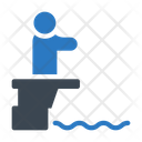 Diving Water Swimming Icon