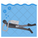 Diving Adventure Holiday Icon